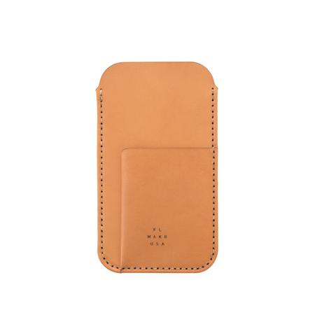 MAKR iPhone 7/8 Card Sleeve - RUSSET