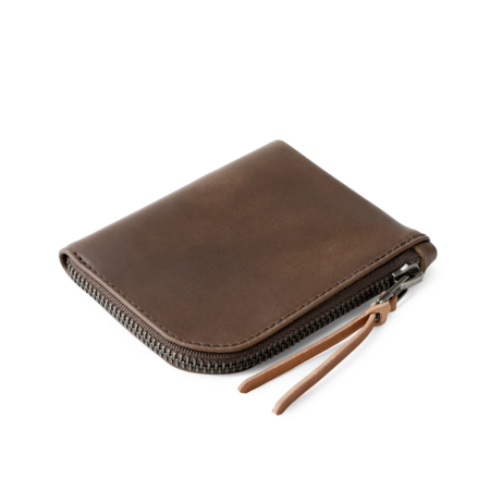 Makr Zip Luxe Wallet - Bark