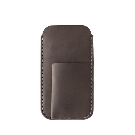 MAKR iPhone Card Sleeve - Charcoal