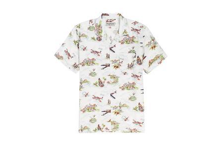 Knickerbocker Central Shirt - White