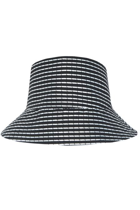 N-DUO Panama Hat - Stripe