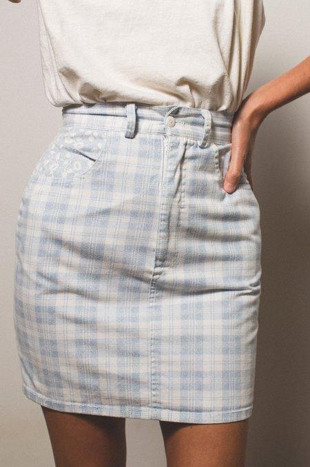 Preservation Vintage Skirt - Plaid