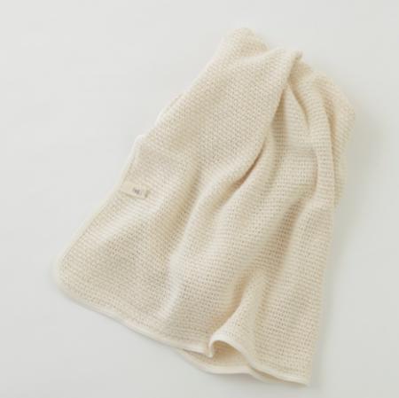 Kids Fog Linen Baby Blanket - Ivory