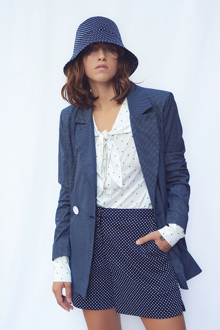 N-DUO Dotted Panama Hat