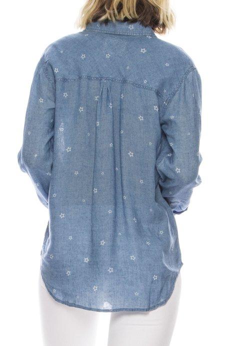 Rails Star Denim Shirt - INDIGO STAR