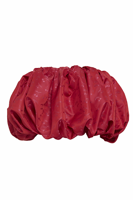 N-DUO Loofah top - RED