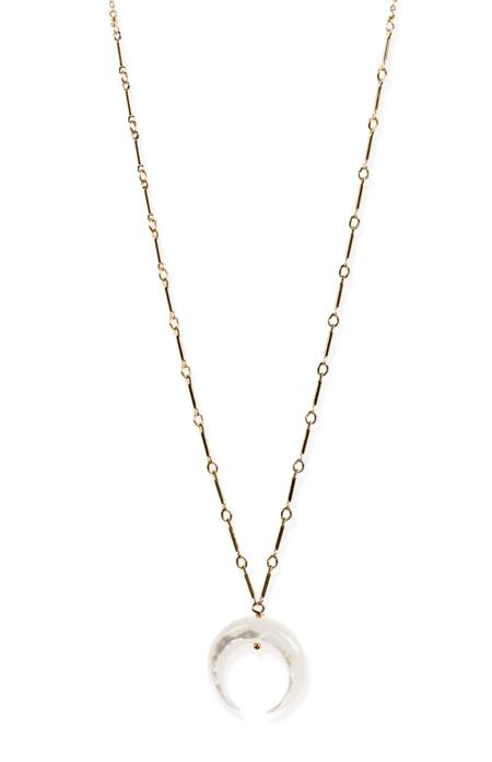 Kozakh Baque Dots Necklace - Gold
