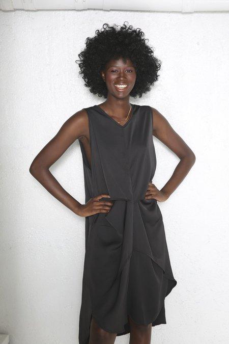 """Intentionally __________."" Feel Dress - Black"