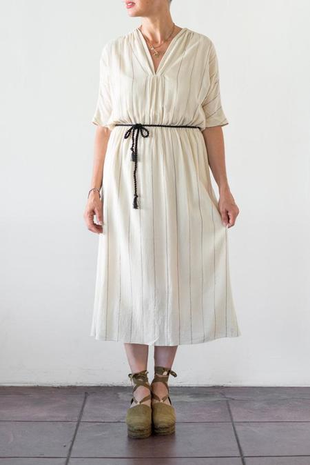 Pomandere V Neck Dress
