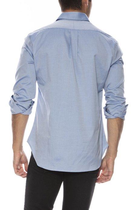 Gitman Bros X Ron Herman Exclusive French Cuff Shirt - Royal Blue