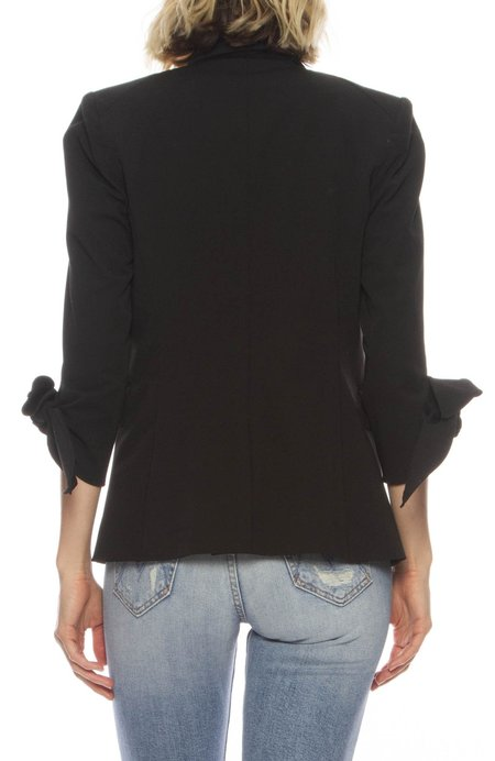 Veronica Beard Corrine Dickey Jacket - BLACK