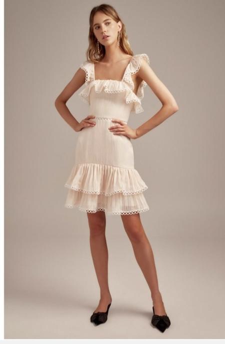 KeepSake Too Close Mini Dress - Natural