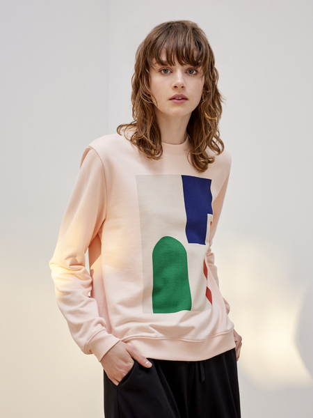 Kowtow Wall Crew in Light Pink