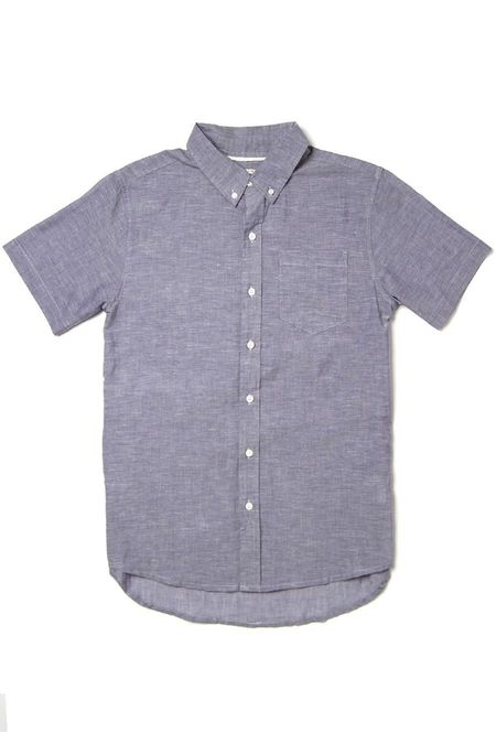 Bridge & Burn Jordan SHIRT - Summer Chambray Blue