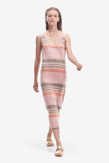 STORM & MARIE striped dress - BLUSH