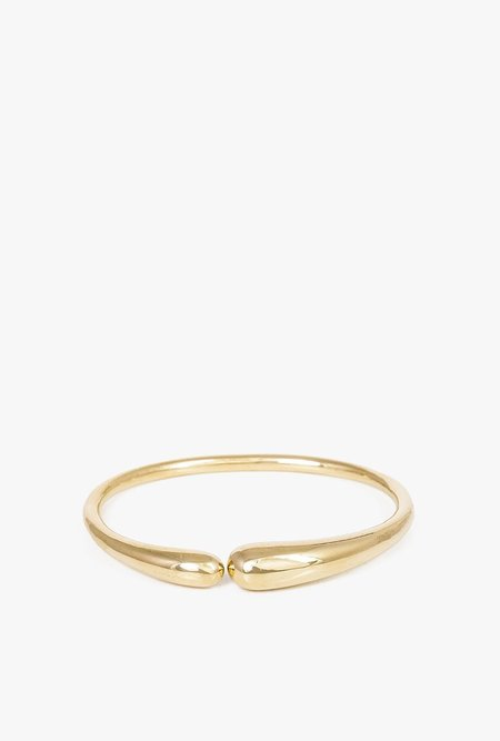 JACQUELINE ROSE Fluid Bangle - Bronze