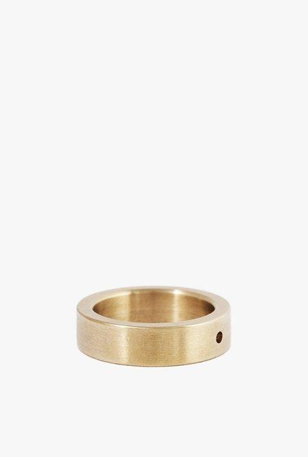 Marmol Radziner Heavyweight Solid Standard Ring - BRASS
