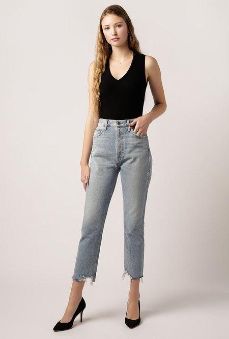 AGOLDE Riley Hi Rise Crop Jean