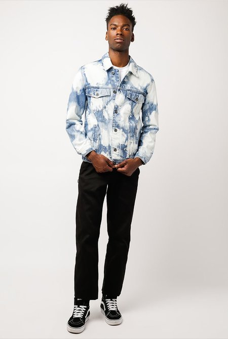 Barney Cools B Rigid Denim Jacket - Bleached Blue