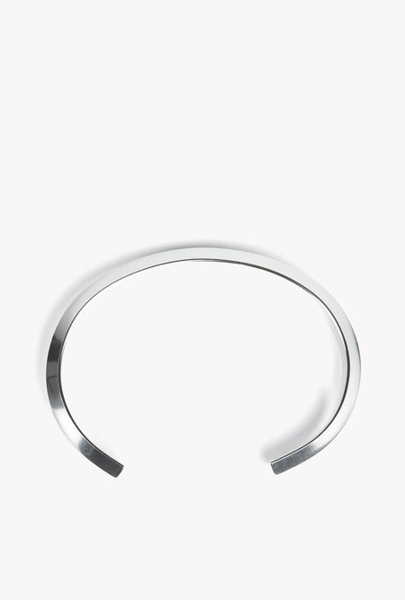 The Sum The Edge Cuff - STERLING SILVER