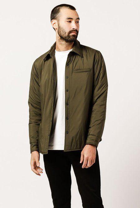 WELCOME STRANGER Coach Jacket - Olive