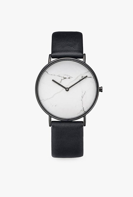 The Horse Watch The Stone Dial - BLACK/WHITE MARBLE