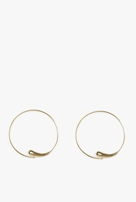 SOKO Dash Hoops - Brass