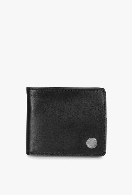 HERSCHEL SUPPLY CO Vincent Leather Wallet - BLACK