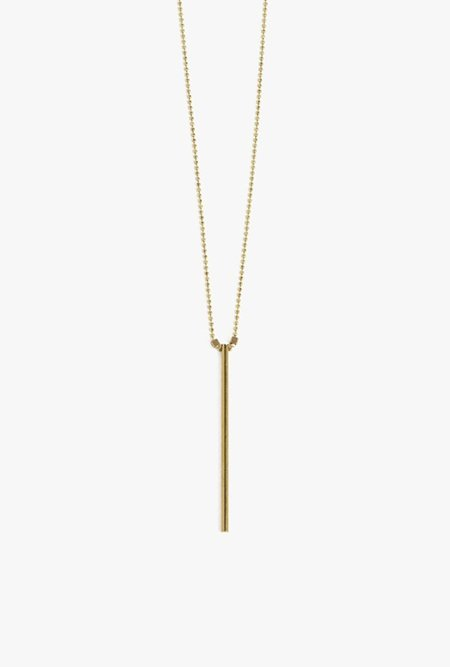 Ak Studio Flash Necklace - Brass