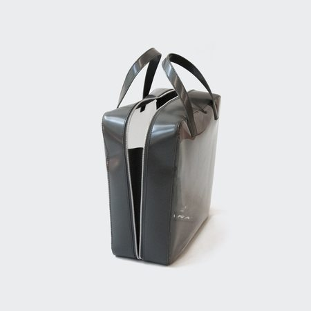 KARA Mega Brick Bag - Cement/Smoke