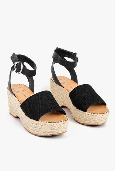 Dolce Vita Lesly Espadrilles Sandals - Black
