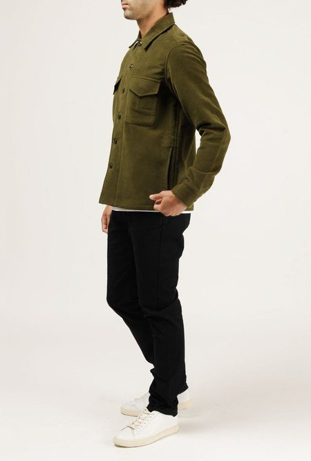 WELCOME STRANGER Military Jacket - OLIVE