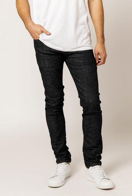 Purple P005 Straight Jeans - RAW INDIGO