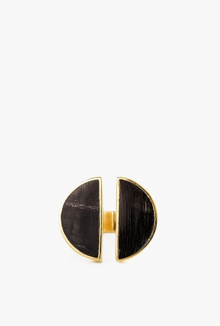 SOKO Split Moon Ring