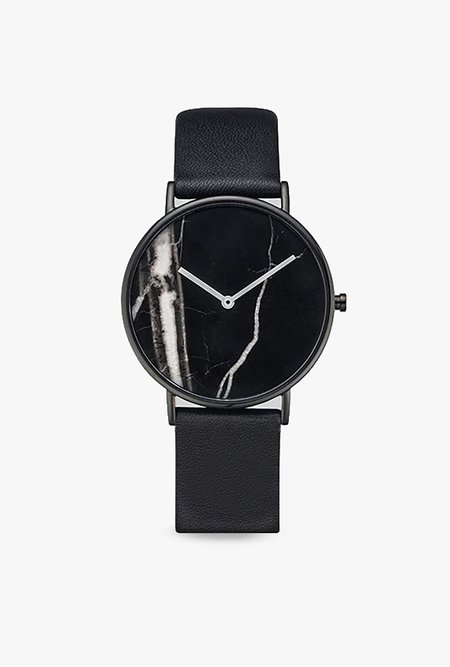 The Horse Watch The Stone Dial - BLACK/BLACK MARBLE