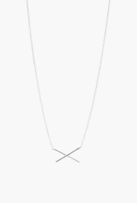 Gabriela Artigas X Necklace - White Gold