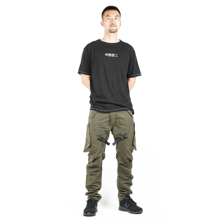 Guerrilla Group ES-PL02 CARGO PANTS - OLIVE
