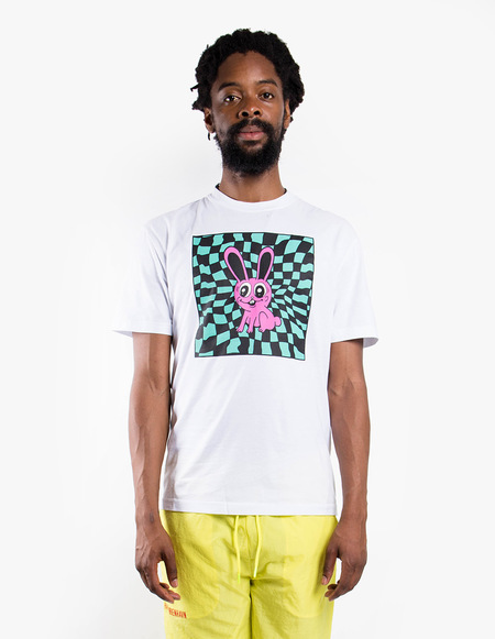 McQ Alexander McQueen Dropped Shoulder Tee - Optic White