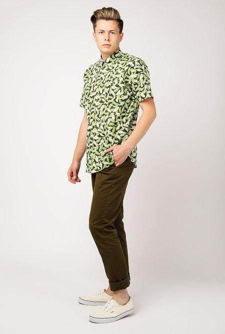 Kardo Safomasi Don SS Shirt - LEAVES