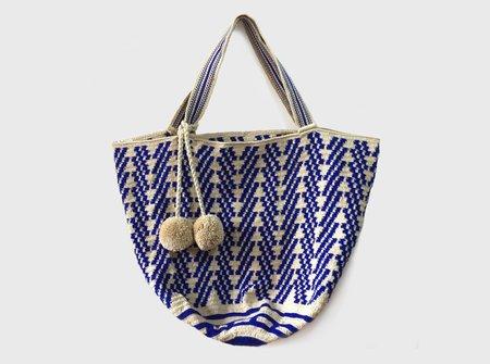 Summer Blusnake Beach Bag