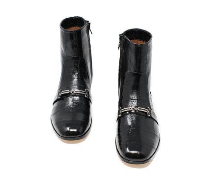 Newbark Joey Leather Boot - Black