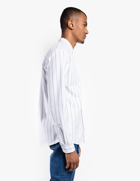Pleasant Striped Shirt - white