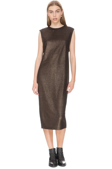 the fifth label Rather Be Sheath Dress - Rosegold