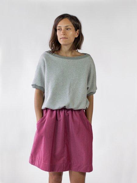 Nahanni Arntzen Corduroy Skirt - Soft Pink