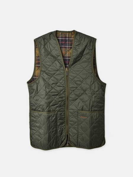 Barbour QUILTED WAISTCOAT - OLIVE/CLASSIC