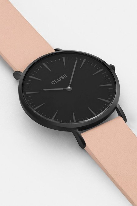 Cluse La Boheme Leather Watch - Nude