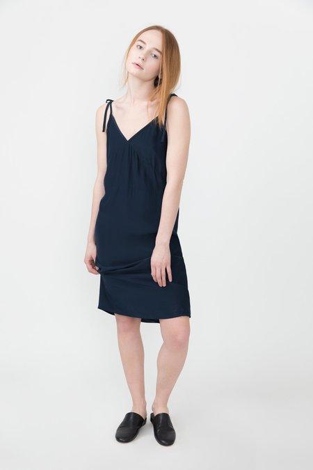 Jenni Kayne Tie Slip Dress - Navy