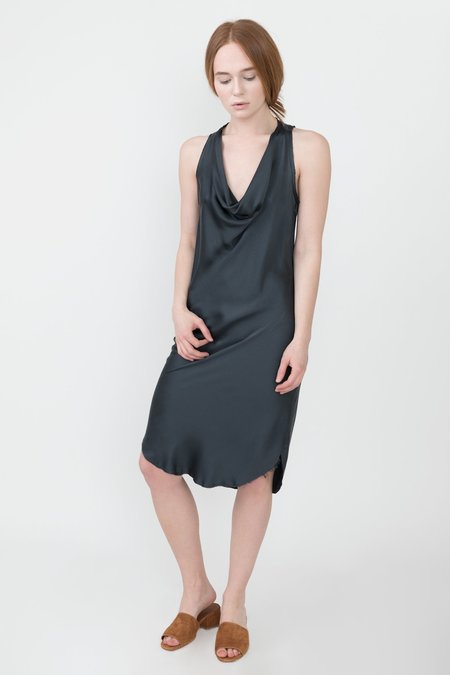 Kes Cowl Neck Tank Dress - Dust