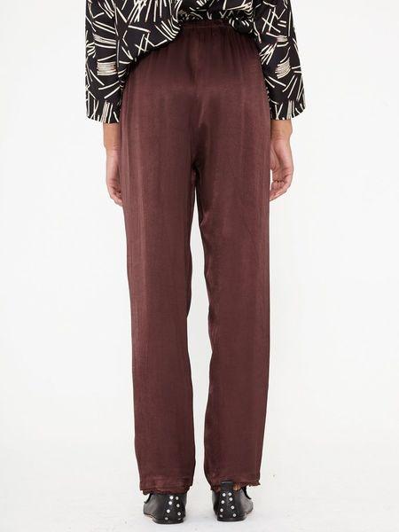 Raquel Allegra High Waist Slim Pant