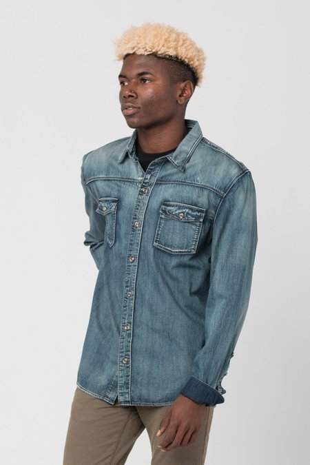 Paige Hunter Denim Shirt - Otto